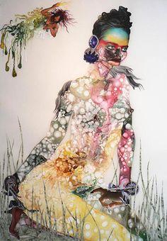 DYNAMIC AFRICA — Inspirational Art by Kenyan Artist Wangechi Mutu