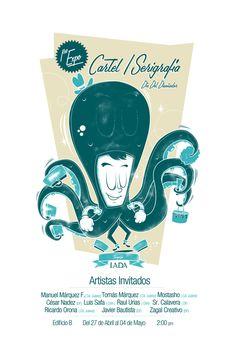 Ricardo Orona  | Cartel Expo/Serigrafía by Ricardo Orona, via Behance