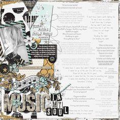 Music in my Soul - Sweet Shoppe Gallery Team Page, Digital Scrapbooking, Gallery, Music, Sweet, Creative, Roof Rack, Muziek, Musik