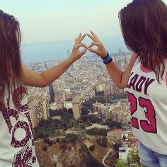 #mirador #bunker #vistas #barcelona #infinito #aspiradora #pdmld #tengoganasdeti #hermana  #lamejor #carmelo #bcn #quetussueñosseanmasgrandesquetusmiedos #petita #hermanitaguapa #testimo #her #tequiero #21 #pequeñosdetallesmarcanladiferencia @fraanch7