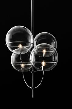 the Lyndon suspension lamp has been revamped over the years for indoor and outdoor purposes ➤ Discover more luxury lifestyle news at www.covetedition.com @covetedition #covetedmagazine @covetedmagazine #luxurylifestyle #lighting #oluce @oluce