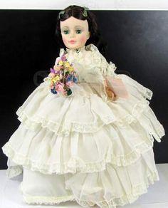 shopgoodwill.com: 19�61 Madame Alexander Scarlett Doll W/Tag