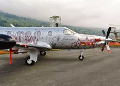 "Pilatus PC-12 NG, ""Leonardo da Vinci"" - Bemalung"