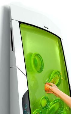 bio robo4 El frigorífico del Futuro: Bio   Robot.