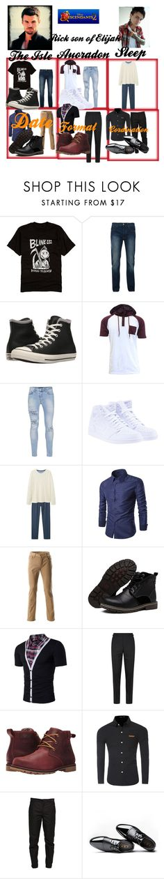 """Rick Perry Mikaelson Bio Update"" by ncis-lover-dinozzo ❤ liked on Polyvore featuring Hot Topic, Bellfield, Converse, Topman, NIKE, MANGO, Tom Ford, Columbia, Maison Margiela and men's fashion"