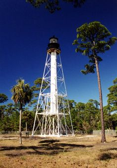"Cape San Blas Lighthouse - Beverly ""the Lighthouse lady"" for tours & info 850-229-1151"