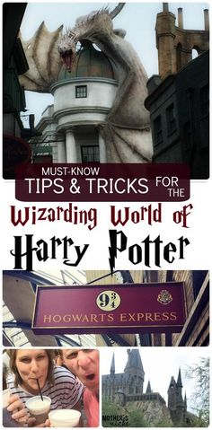 All the must-know tips for visiting Harry Potter World at Universal Studios Universal Orlando, Disney Universal Studios, Universal Studios Florida, Universal Passes, Walt Disney World, Disney World Vacation, Disney Vacations, Disney Trips, Family Vacations