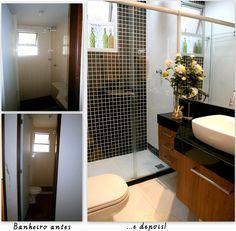 Banheiro - antes e depois!