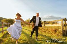 Runaway bride.... and groom!