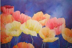 Jenny's 'Poppy Power' lovely watercolor