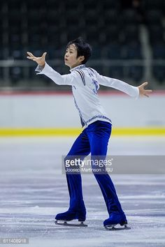 Koshiro Shimada of Japan competes during the Junior Men Short Program on day one of the ISU Junior Grand Prix of Figure Skating on September 29 2016...
