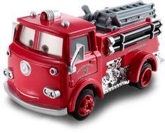 RED - Disney PIXAR Cars movie diecast firetruck