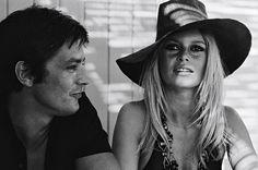Alain Delon x Brigitte Bardot