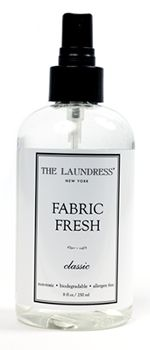 City living and forced to use a laundry room? Spray this in the washer and dyers first. Anti-bacterial properties + best scent