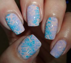 MoYou Nails Stamping Plate 222 - #moyou #nailart #nails #nailpolish #nailstamping #nails #wendysdelights - bellashoot.com