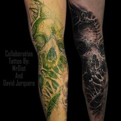 #Repost @mrdist ・・・ Done! Had a awesome day tattooing with @david.jorquera  #inkjecta #hustlebutterdeluxe #sullen #bigslicktattoo  #collabtime #tattoo #tattoolife #tattoofreakz #tattooistartmag #tattoosocietymagazine #inkedmag #inkjunkeyz #bnginksociety