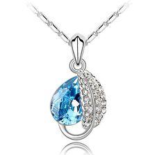 Luxurious Swarovski Crystal 925 Necklace