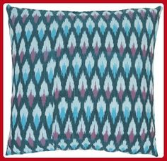 Safavieh 18-Inch Hawaii Pillow, Blue and Purple, Set of 2 - Improve your home (*Amazon Partner-Link)