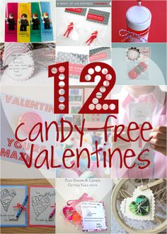12 Candy-Free Valentines ~ Creative Family Fun