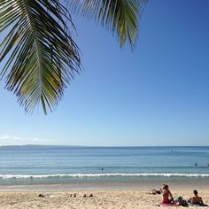 Post-card perfect Noosa Main Beach!