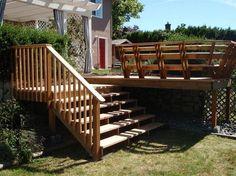 Attractive Gartentreppe Aus Holz Selber Bauen U2013 Anleitung Und Beispiele