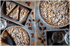 Hruškový koláč s mandlemi (Pear cake with almond)