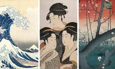 Ukiyo-e Japanese Woodblock Print History:The Unique History and Exquisite Aesthetic of Japan's Ethereal Woodblock Prints Art Couple, Art Tumblr, Japanese Streets, Japanese Prints, Japan Art, Chinese Painting, Woodblock Print, Ethereal, Watercolor Art