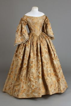 Dress, 1855-65 From the Chester County Historical Society