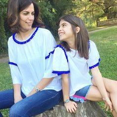 """""""Mi piace"""": 37, commenti: 1 - DoDoÀ (@dodoa._) su Instagram: """"Coachella t-shirt mini-me😍 Il mini-me è il trend del momento. Finalmente il desiderio di…"""""""