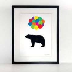 Up, Up, And Away Children's A3 Print