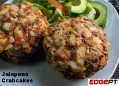 Check out our delicious crabcakes recipe. #food #nutrition #health #wellness #personaltrainer #edgept