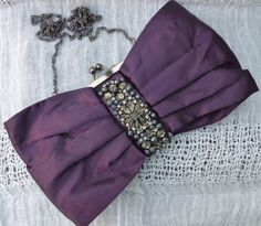 MONSOON  Vintage 1990s Rich Dark Purple by VintageJewelleryFun