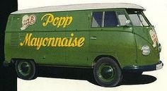 Delicious Industries: Vintage VW Bus Signage