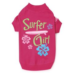 Surf's Up Dog Tee Apparel => If you love this, read review now : Dog Apparel and Accessories