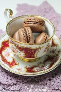 マカロン ~チョコレート1~