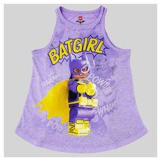 7f1d89aa7cea Girls  Lego Batman Tank Top