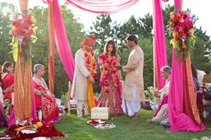 Intimate Vibrant Minnesota Indian Wedding by Erin Johnson Photography Erin Johnson, Intimate Wedding Ceremony, South Asian Wedding, How Beautiful, Wedding Blog, Wedding Inspiration, Ribbon, Indian, Minnesota