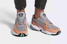 quality design acc95 1df1e Adidas Falcon Easy Orange 1  Sneakers Orange Sneakers, Asics, Light Granite,  90s