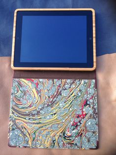 ipad housed securly in Bamboo easily removes Ipad Case, Bamboo, Cases