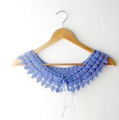 Lace Collar dark Lilac by callmemimi on Etsy, €25.00