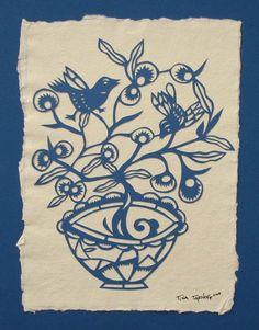 Oh So Beautiful Paper: Paper Artist – Tina Tarnoff Papercuts