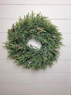 Farmhouse Pine Christmas Wreath