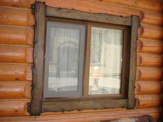 Картинки по запросу наличники для сруба Windows, Log Houses, Window, Ramen
