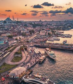 Hagia Sophia, City Landscape, Continents, Paris Skyline, The Good Place, Beautiful Places, Amazing Places, City Photo, Country
