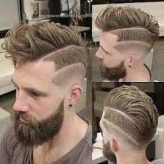 Männer sind immer auf der Suche nach trending-Frisur, die als eine stilvolle Frisur kann wundervoll sein, um stilvoll Aussehen, vor allem, wenn der Stil ist toll, zu verabschieden. Niemand würde Sie zurückhalten, von einem Stil, der macht ihn schön. Ähnlich ist der Fall mit Mohawk-Frisur... - #AmBesten, #Fade, #Falke, #Faux, #Haarschnitt