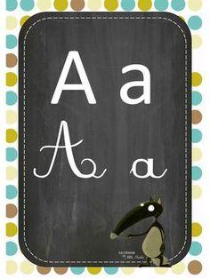 Fichier PDF Abécédaire nouvelle version Q.pdf S Alphabet, Wolf, Busy Bags, Grade 1, Montessori, Back To School, Zip Around Wallet, Preschool, Album