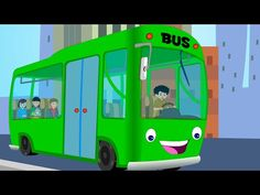 Canzoni per bambini e bimbi piccoli - Wheels on the Bus compilation - Italian Baby music songs - YouTube