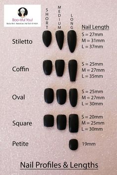 False Nail Sizing Set - Press on Nails - False Nails - Stick on Nails - Glue on Nails - Full cover False Nails - Long Nails - Fake Nails Stick On Nails, Glue On Nails, Glitter Nails, Pointed Nails, Stiletto Nails, Gel Nails, Acrylic Nail Shapes, Best Acrylic Nails, Nail Length