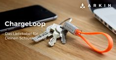 Das neue Smartphone-Ladekabel für den Schlüsselbund. Nimm jetzt gratis teil!