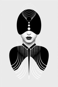 Dark Homonyms: Illustrations by Nikoloz Bionika